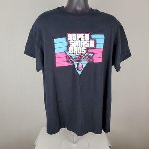 Super Smash Bros Brawl City Gamer Top XL